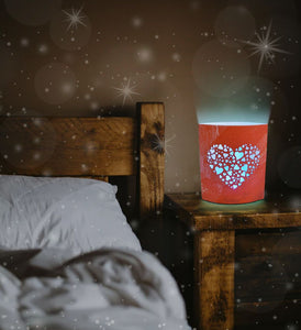 Puzzled Night Light - Heart Lantern