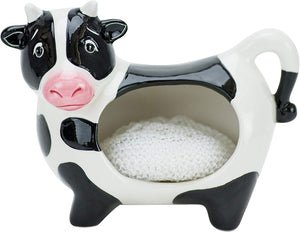 Boston Warehouse Scrubby Holder- Cow