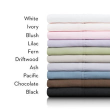 Malouf Woven Brushed Microfiber Sheet Set, Full - Pacific
