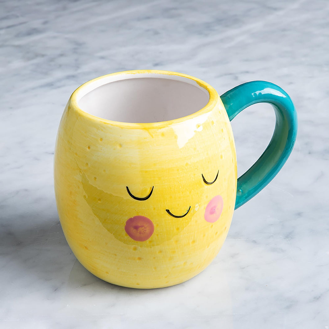 Boston Warehouse Mug-Lemon
