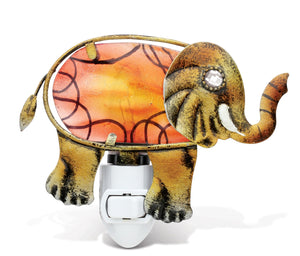 Puzzled Night Light - Elephant