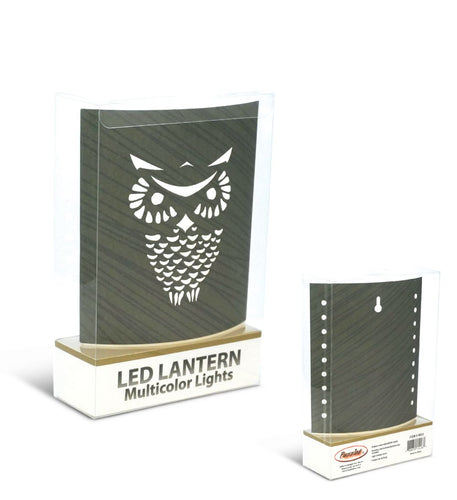 Puzzled Night Light - Owl Lantern