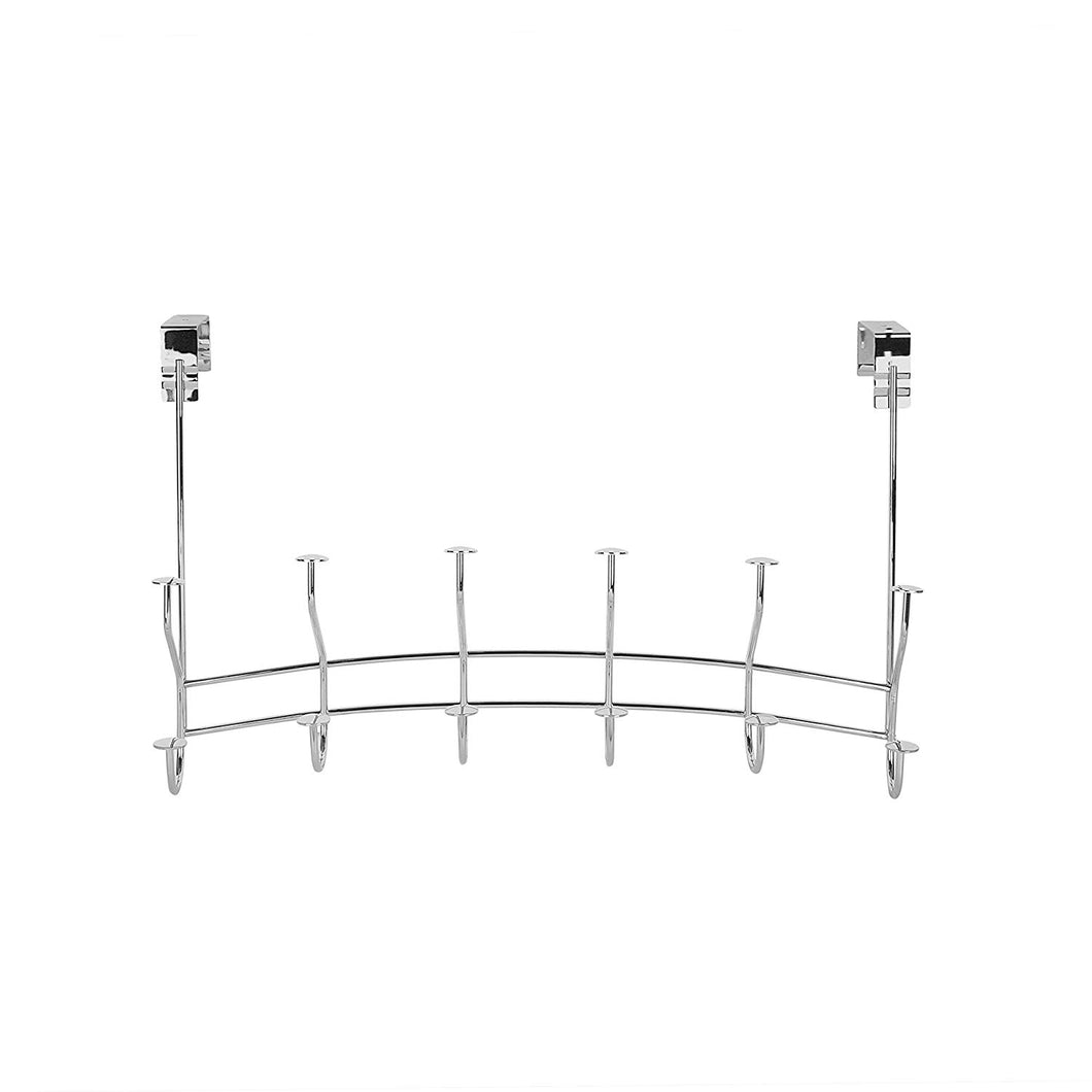 Spectrum Windsor Over the Door 6-Double Hook Rack