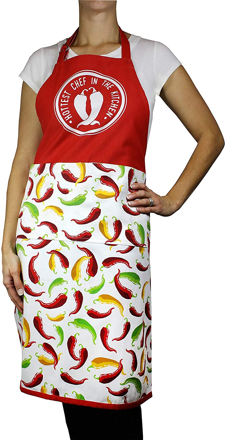 MUkitchen Chili Peppers Apron