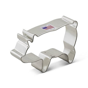 Ann Clark Stainless Steel Cookie Cutter - Pig 4 x 3
