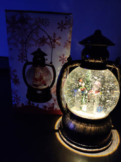 Christmas Snowing Decoration Lamp