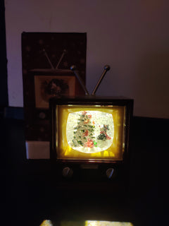Christmas Lovely Glitter Musical Lamp