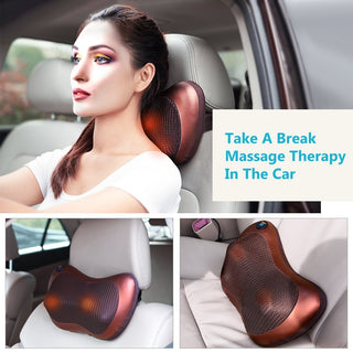 Neck & Shoulder Massager (Plug for Car & Home)