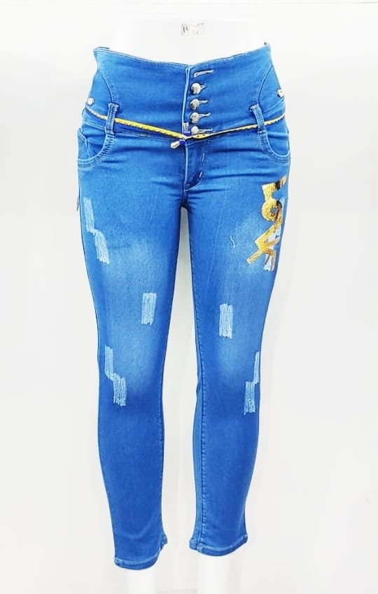 Woman's Ripped Jeans Collection