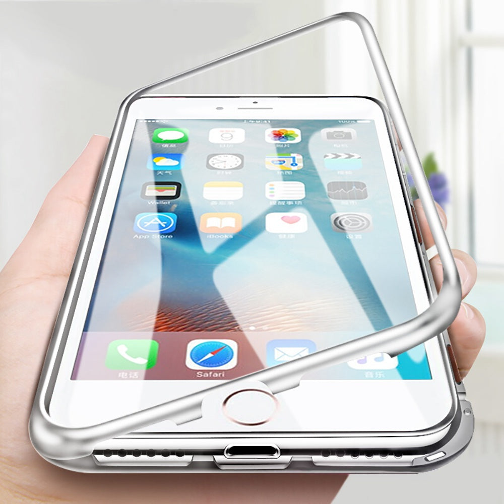 coque iphone 8 aimante transparente