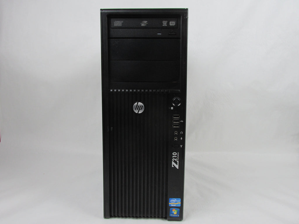 HP Z210 CMT Tower Intel Xeon E3-1245 3.30GHz 4GB 500GB Windows 7 Pro XM856AV