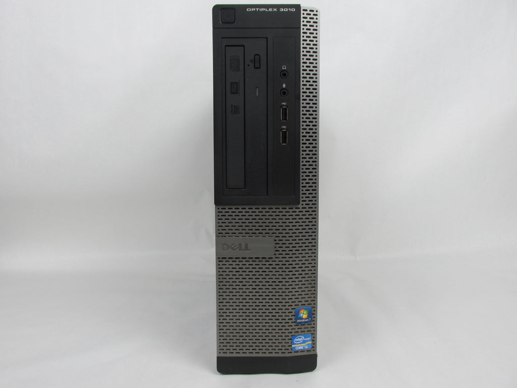 Dell Optiplex 3010 Desktop Core i3-3220 3.3GHz 4GB 250GB Windows 10 Pro HDMI