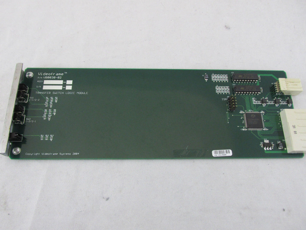 Videoframe VM0007 A/V Transfer Switch Logic Module VB0030-02