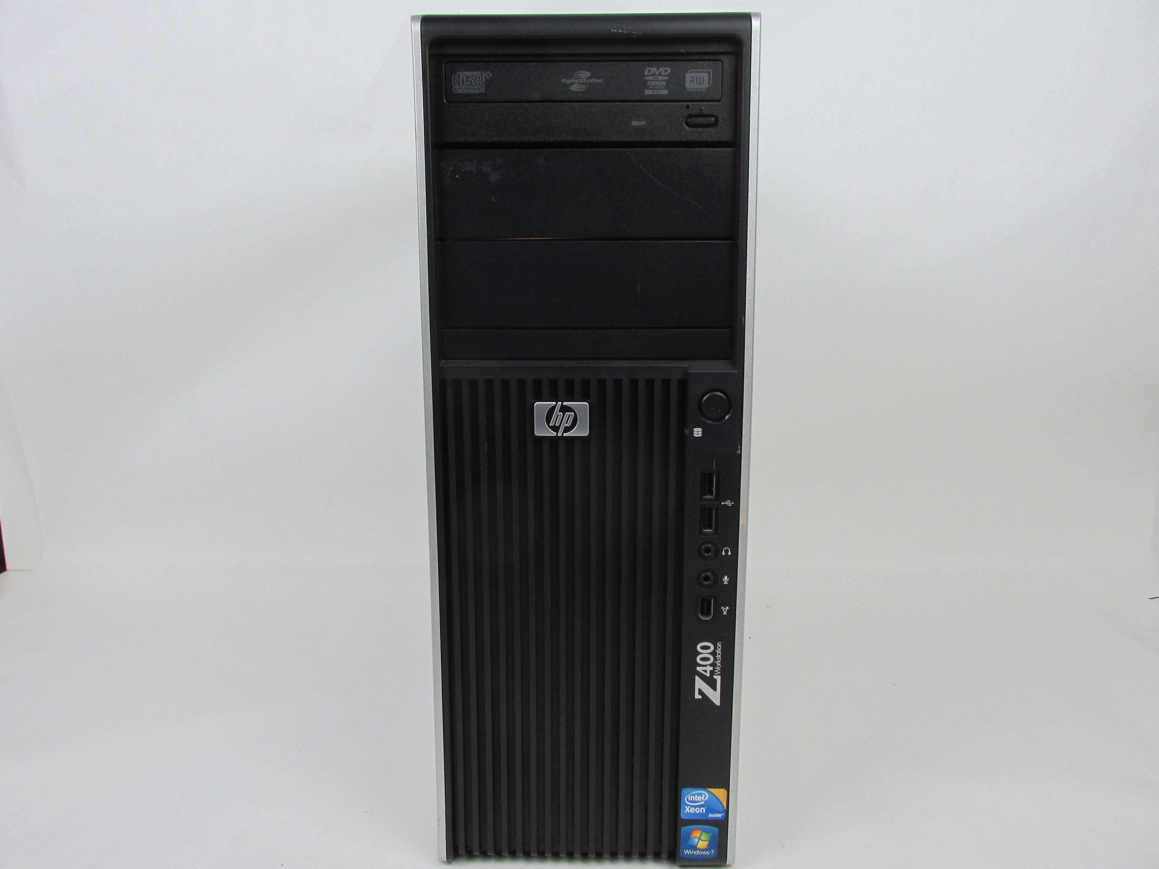 HP Workstation Z400 MT Intel Xeon W3550 3.06GHz Quad 8GB 640GB Windows 10