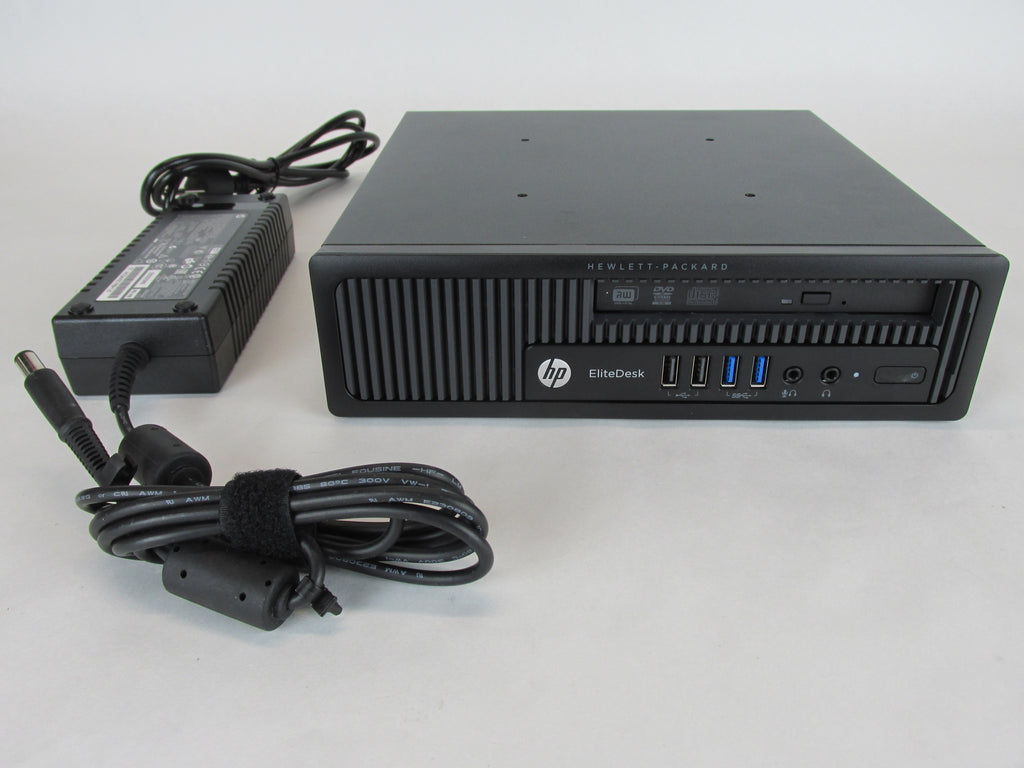 HP EliteDesk 800 G1 UltraSlim Core i5-4590s Quad 3GHz 4GB 500GB Win 10 J9S51UA