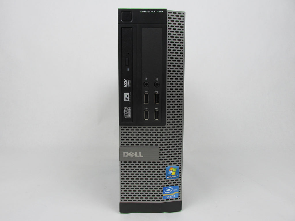 Dell Optiplex 790 SFF Intel Quad-Core i7-2600 3.40GHz 8GB 500GB Windows 10 Pro