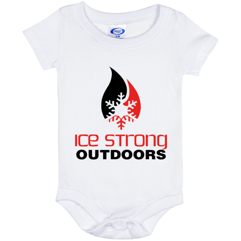 Ice Strong Baby Onesie 06 Month Original Logo