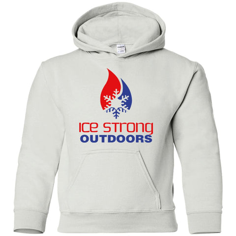 Youth Pullover Hoodie Patriotic Logo (LOTS of color choices)