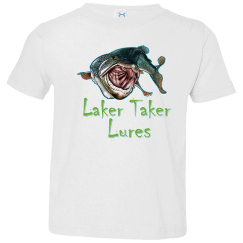 Toddler Laker Taker Lures Jersey SS T-Shirt (10 color choices)