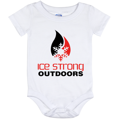 Ice Strong Baby Onesie 12 Month Original Logo
