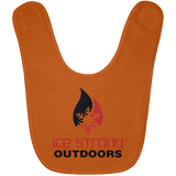 Ice Strong Baby Bib Original Logo (LOTS of bib color choices)