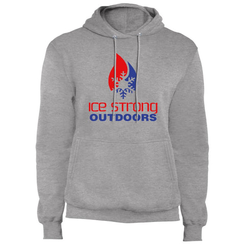 Men's Regular Pullover Hooded Sweatshirt Patriotic Logo (Athletic Heather, Charcoal, Black, Navy, Royal, Olive)
