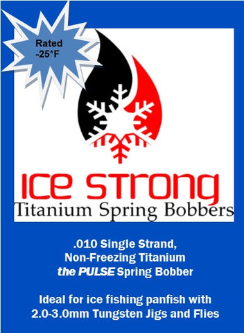 The Pulse Ice Strong Titanium Spring Bobber
