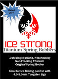 **NEW for 2020** SUPER GLOW ORIGINAL Ice Strong Titanium Spring Bobber