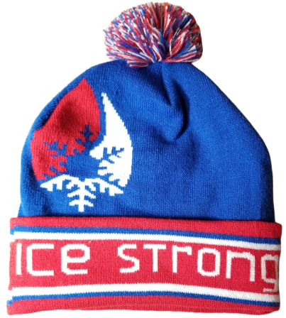 The Patriotic Pom Beanie