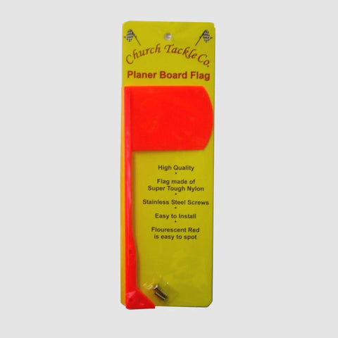 Church Tackle Planer Board Flag Only