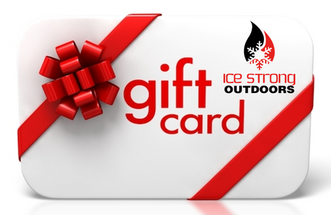 Ice Strong Outdoors Virtual Gift Card