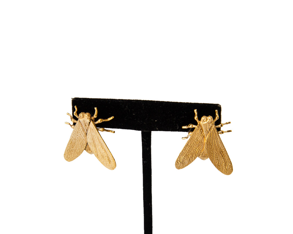 Vive Hodie Large Fly Studs