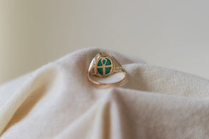 The Egyptian Cross Ring