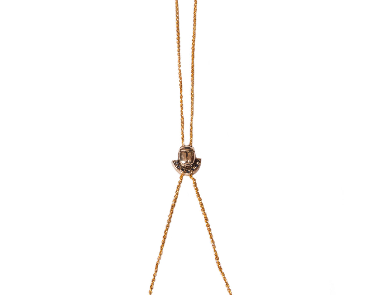 Tigris Tassel Necklace