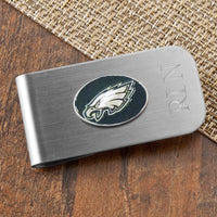 Personalized Money Clip and Bottle Opener - NFL Team Logo