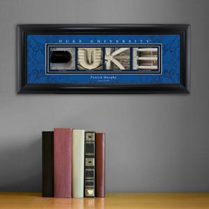 Personalized University Architectural Art - Atlantic Coast Conference College Art