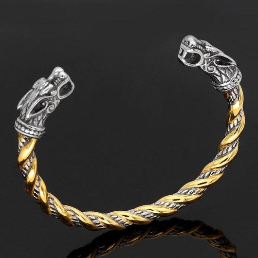 Gold Trimmed Armring - Odins-Glory