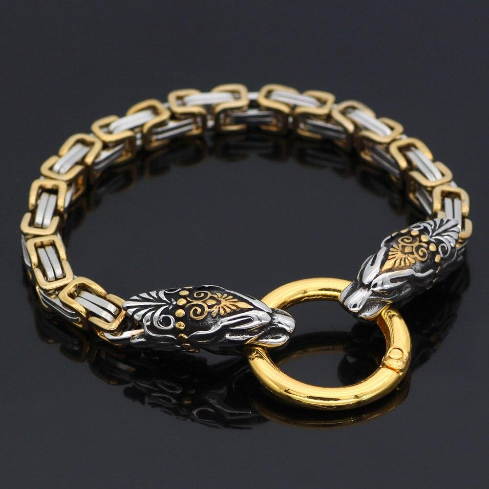 Gold Trimmed Tiger Bracelet - Odins-Glory