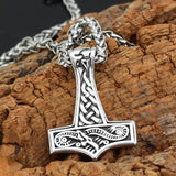 Jörmungandr Mjolnir Necklace - Odins-Glory