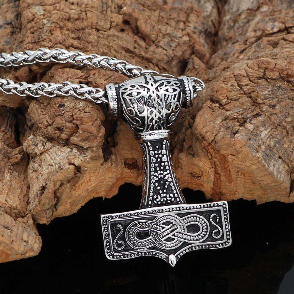 Mjolnir Necklace - Odins-Glory