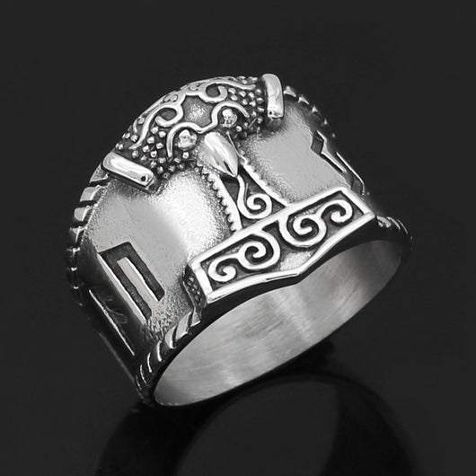 Mjolnir Ring - Odins-Glory
