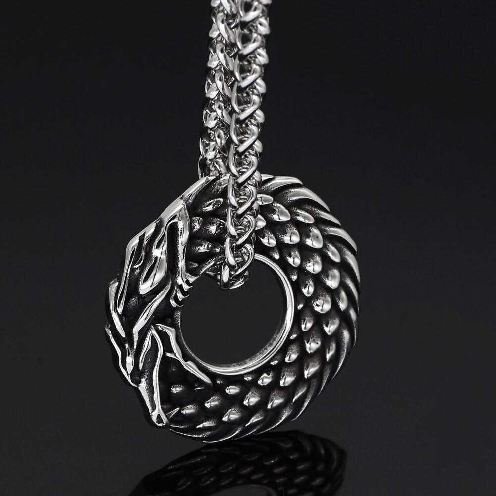 Jormungandr Serpent Necklace