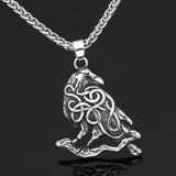 Viking Raven Necklace - Odins-Glory