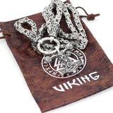 Rune King Chain With Sleipnir Pendant - Odins-Glory