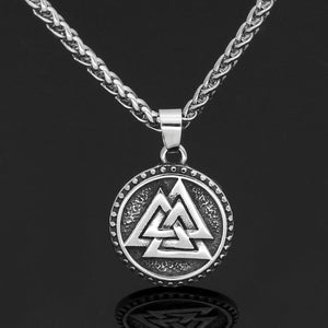 Valknut Necklace - Odins-Glory
