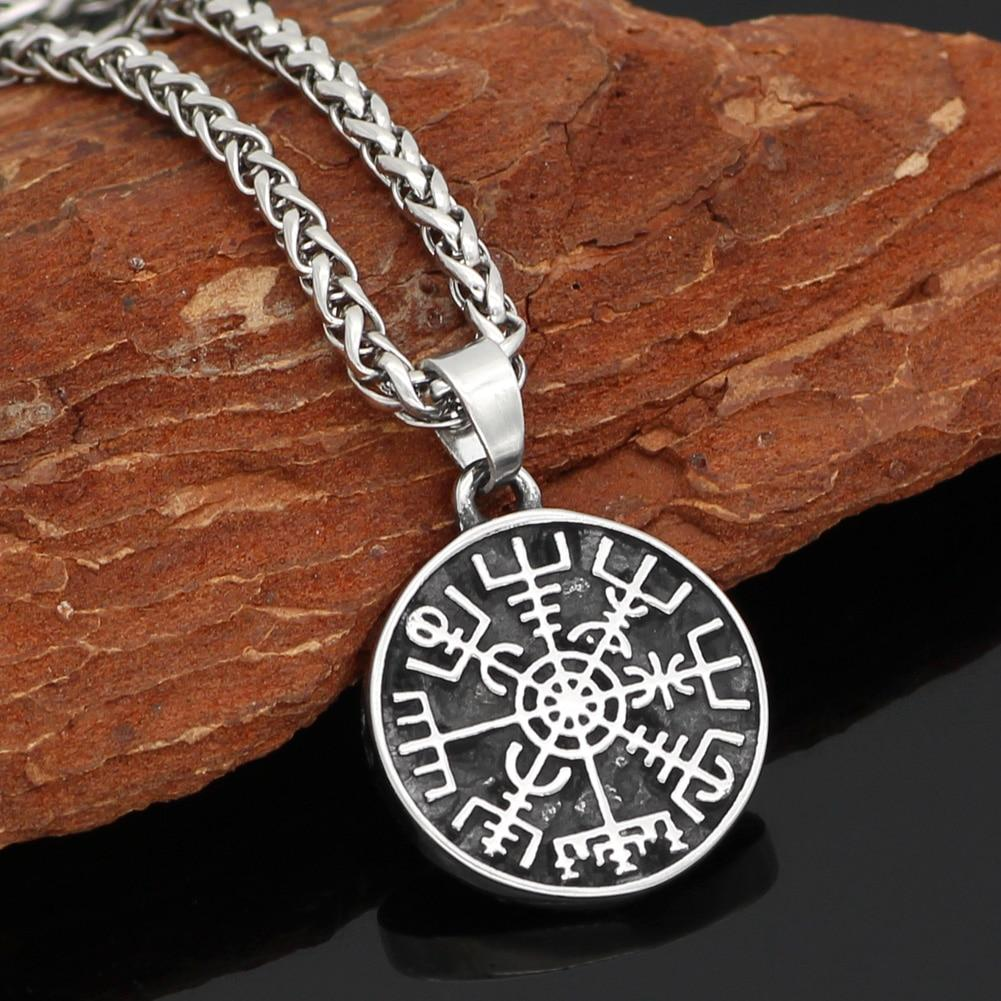 Vegvisir Necklace - Odins-Glory