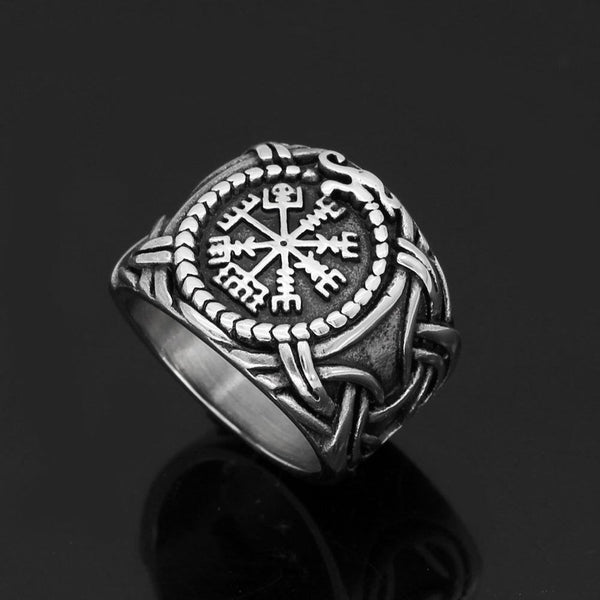 Vegvisir Ring - Odins-Glory