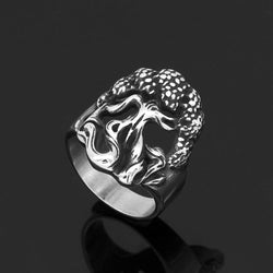 Yggdrasil Tree of Life Ring - Odins-Glory