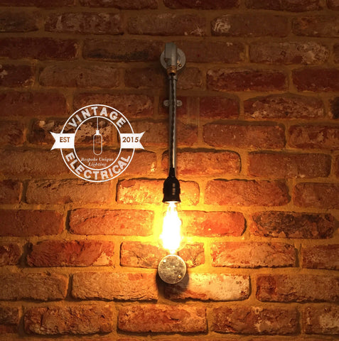 The Horsey Industrial vintage pendant wall light fitting eddison filament lamps steampunk bar pub shop boutique home cafe