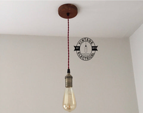 Martham ~ Single Pendant Drop Light